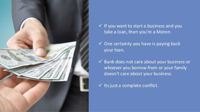 how to get a loan to start a business