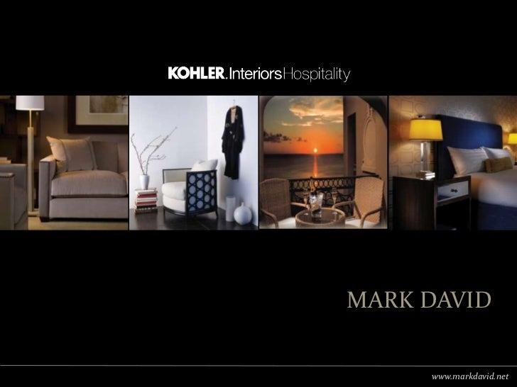 Mark David (Kohler Co.) India Profile