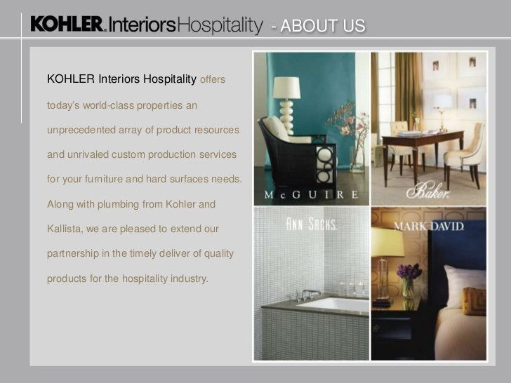 3.   ABOUT USKOHLER Interiors ...