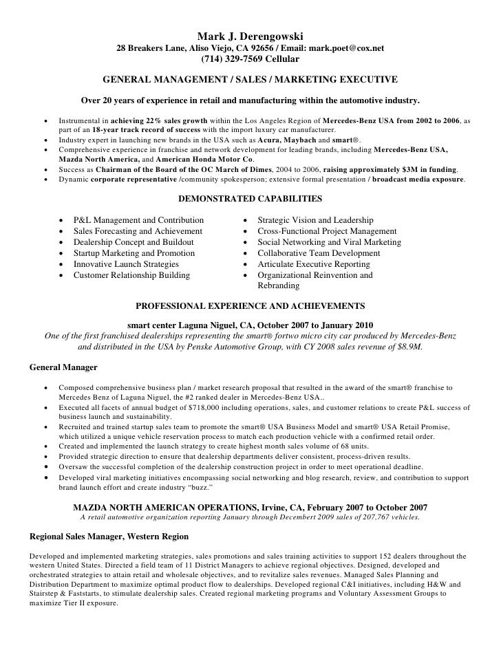 Inside Sales Manager Resume VisualCV  District Sales Manager Resume