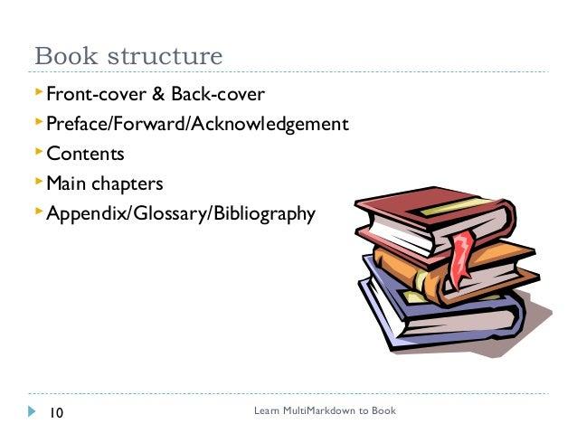 Write book in markdown