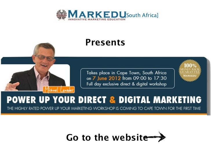 [South Africa]   PresentsGo to the website