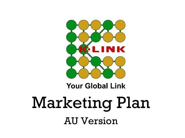 Marketing Plan AU Version
