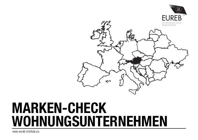 MARKEN-CHECK WOHNUNGSUNTERNEHMENwww.eureb-institute.eu