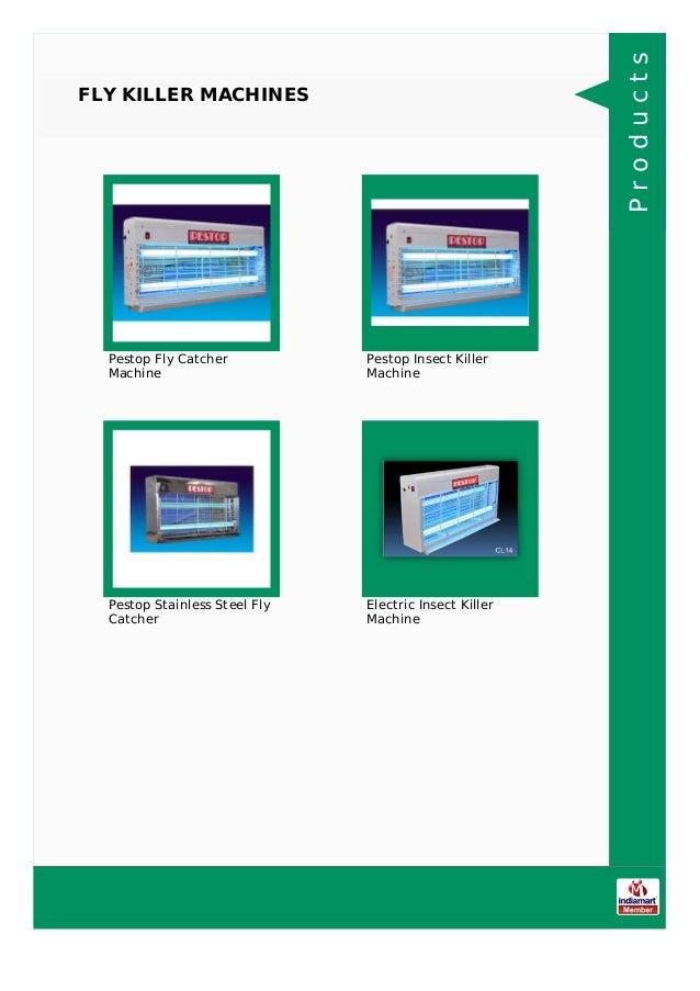 Marker Electronic Equipments, Nashik, Electronic Insect Killer Slide 3