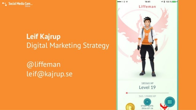 Markering with social gaming