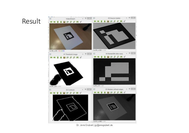 A Short Introduction to  Computer Vision-based  Marker Tracking