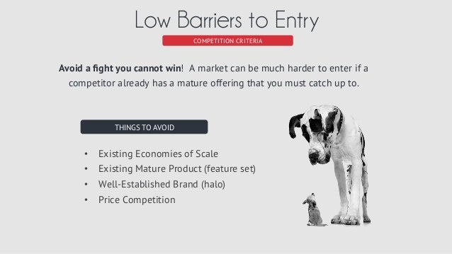 barriers to entry furniture industry Barriers to entry are one of the most important determinants of industry  profitability - you will make better investment decisions if you understand them.