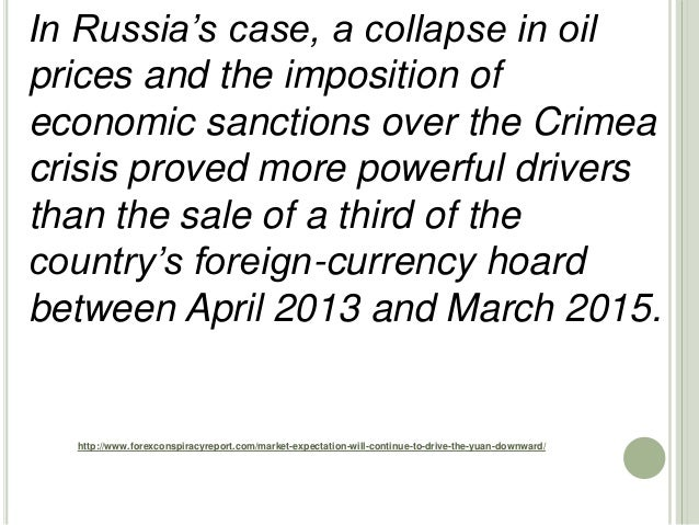 http://www.forexconspiracyreport.com/market-expectation-will-continue-to-drive-the-yuan-downward/ In Russia's case, a coll...