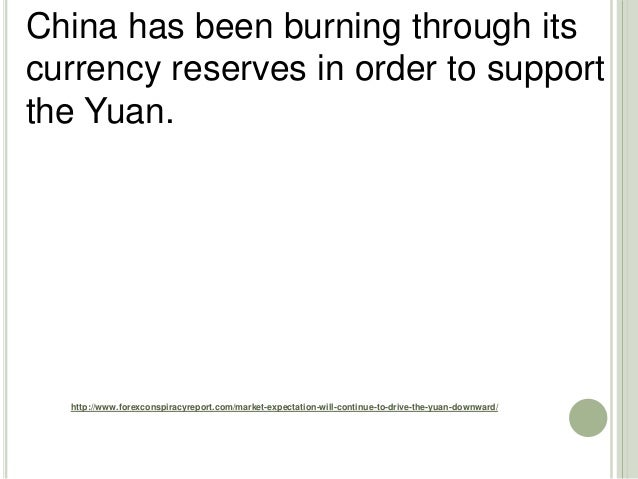 http://www.forexconspiracyreport.com/market-expectation-will-continue-to-drive-the-yuan-downward/ China has been burning t...