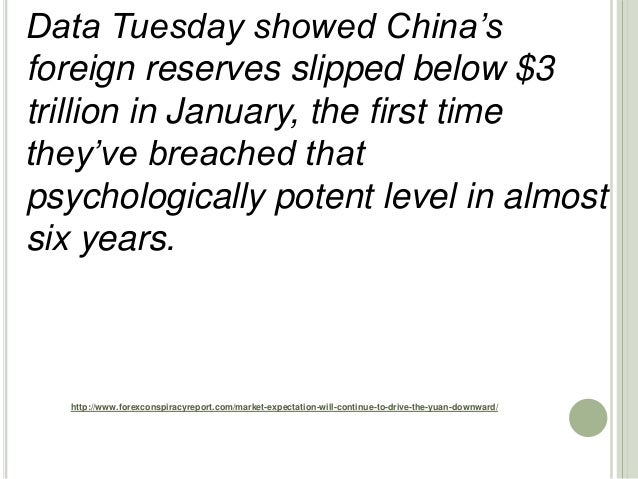 http://www.forexconspiracyreport.com/market-expectation-will-continue-to-drive-the-yuan-downward/ Data Tuesday showed Chin...