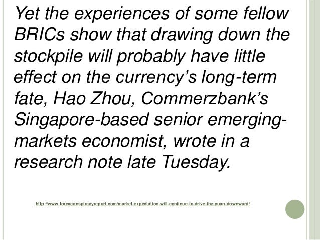 http://www.forexconspiracyreport.com/market-expectation-will-continue-to-drive-the-yuan-downward/ Yet the experiences of s...