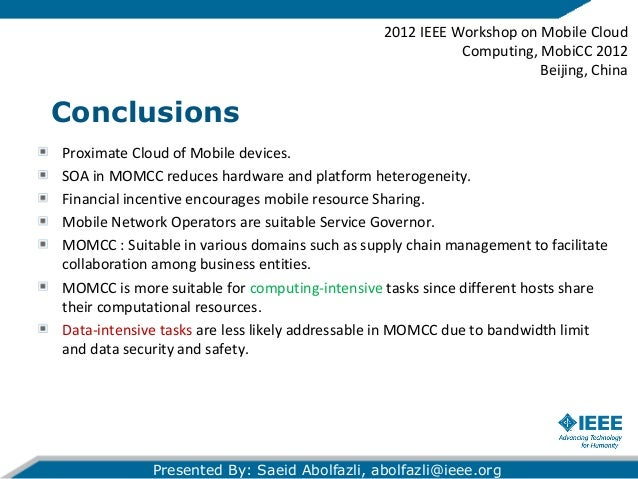 mobile cloud computing research thesis