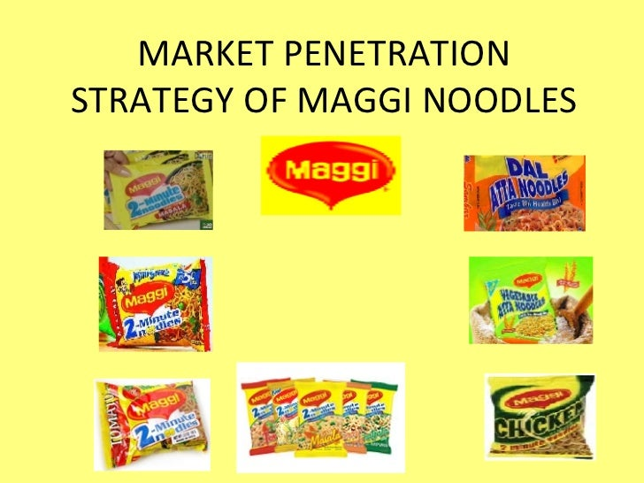 New product market penetration