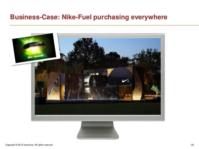 Copyright © 2012 Accenture. All rights reserved. 28Business-Case: Nike-Fuel purchasing everywhere