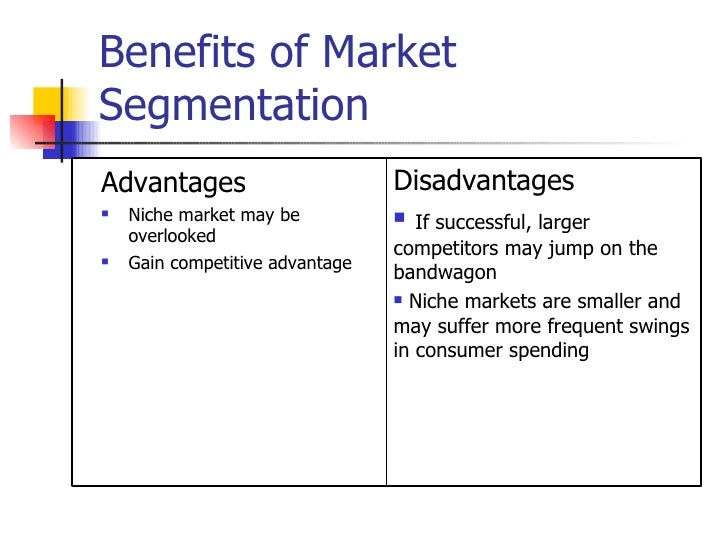 challenges of market segmentation