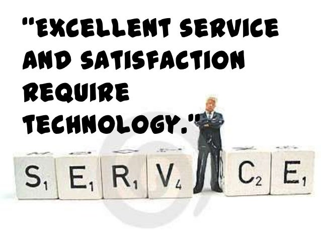 Service           Can           Increase           SaleBut how?