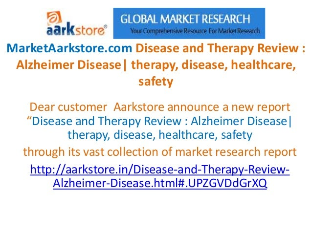 MarketAarkstore.com Disease and Therapy Review : Alzheimer Disease| therapy, disease, healthcare,                     safe...