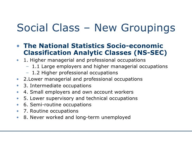 analysis of social class The term social class is commonly used in american culture today but is not   gallup's last analysis showed that 3% of americans identified.