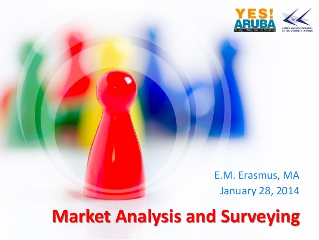 E.M. Erasmus, MA January 28, 2014  Market Analysis and Surveying
