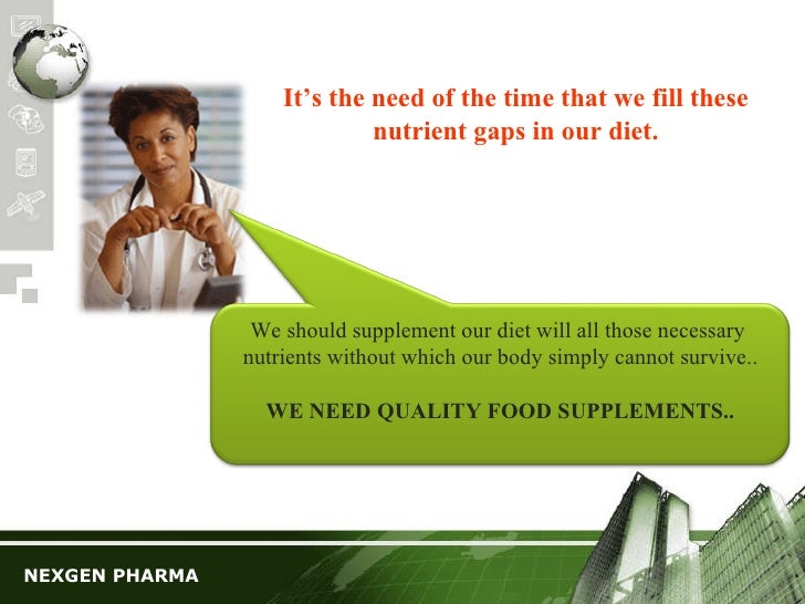 an analysis of the causes and effects of dietary food supplements on the market today Fda regulation of drugs versus dietary supplements all prescription and non-prescription drugs are regulated in the united states by the food and drug administration (fda) but dietary supplements are treated more like special foods.