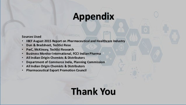 Market analysis of medicine segment in health care
