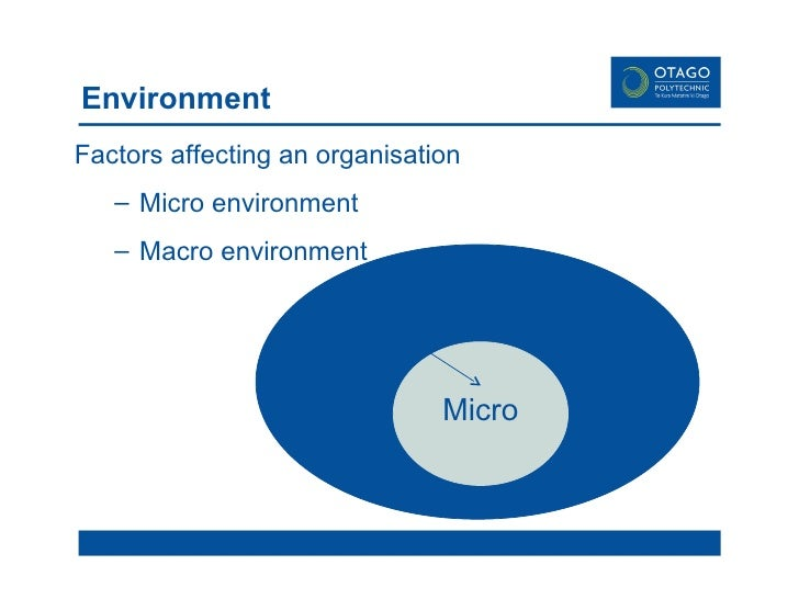 macro environmental factors affecting bmw The influence of micro and macro environment components on trade companies in romania dealing with environmental factors allow detection.