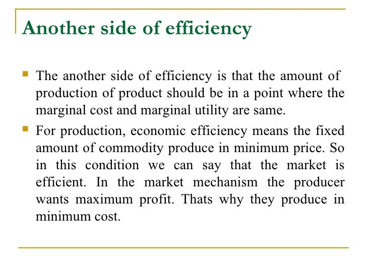market efficiency Strong form of market efficiency is when prices already reflect both publically available information and inside information.