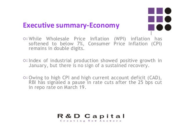 Executive summary-Economy ◌ःHigh CAD has emerged as a major point of worry for policymakers and market participants.
