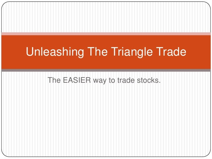 The EASIER way to trade stocks.<br />Unleashing The Triangle Trade<br />