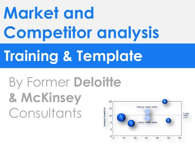 Market competitor analysis template in PPT – Marketing Analysis Template
