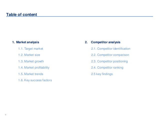 SlideShare  Industry Analysis Template