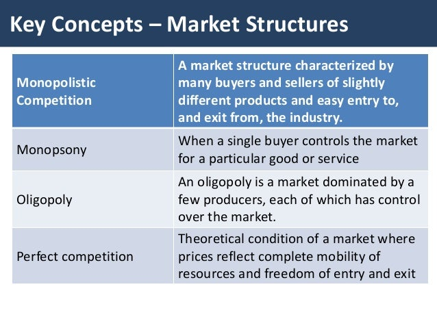 an analysis of the oligopoly a market structure Analysis of market structure: it has its competitors in the market oligopoly: documents similar to analysis on market structure 2.