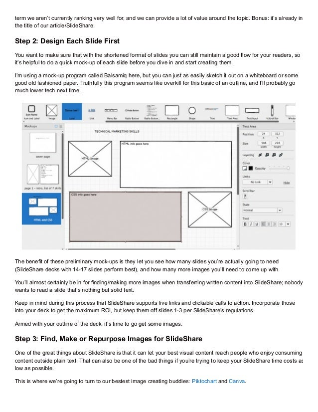 Step-by-step Guide to Making Your First Slide Share Deck Slide 2