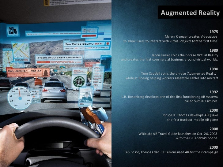 Augmented Reality as a media