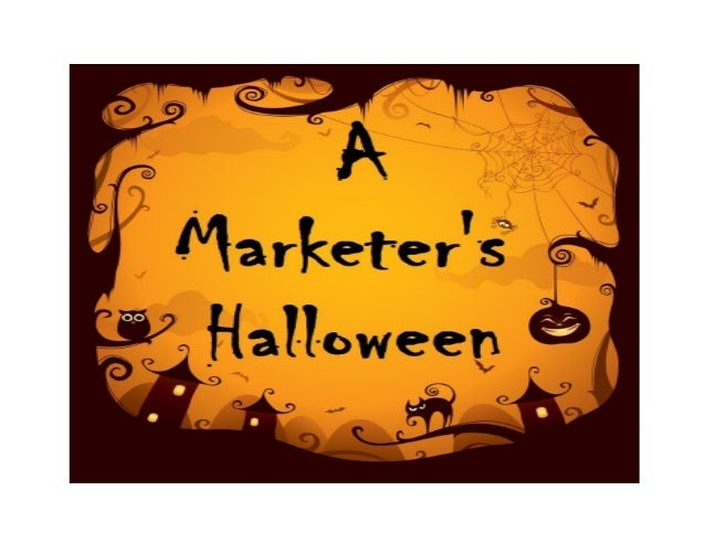 Five    Spooky articlesand bone-chilling posts from MarketingProfs