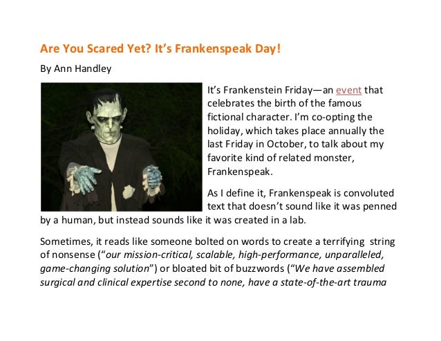 A Marketer's Halloween: Five Spooky Articles and Blog Posts From MarketingProfs Slide 3