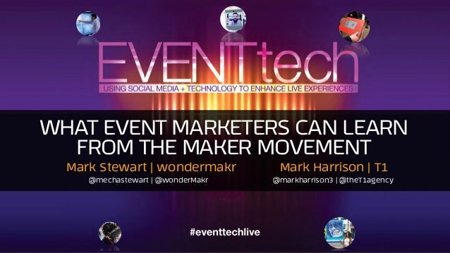 WHAT EVENT MARKETERS CAN LEARN