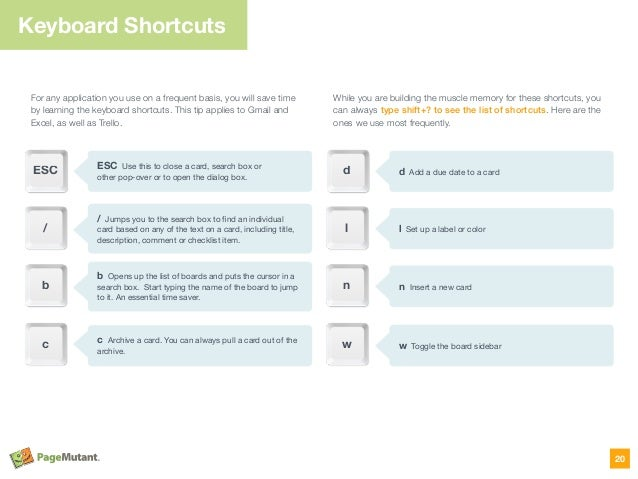 For any application you use on a frequent basis, you will save time by learning the keyboard shortcuts. This tip applies t...