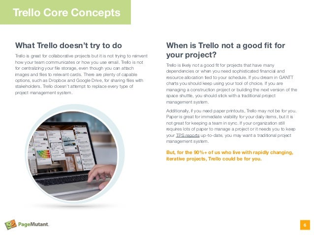 What Trello doesn't try to do Trello is great for collaborative projects but it is not trying to reinvent how your team co...