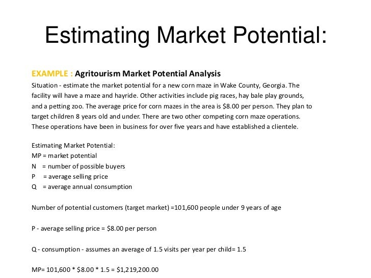 Market Estimation