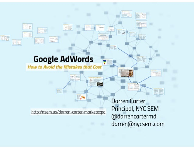 Google AdWords: How to Avoid the Mistakes that Cost