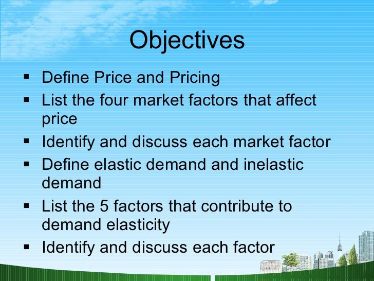 factors affecting share price Factors that impact stock prices  one of the main business factors in determining a stock's price is a company's earnings,.