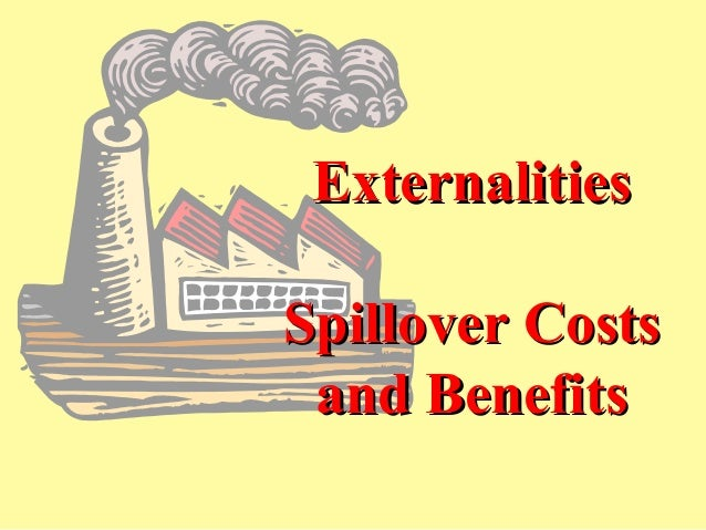 ExternalitiesSpillover Costs and Benefits