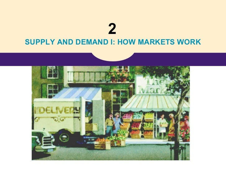 2SUPPLY AND DEMAND I: HOW MARKETS WORK