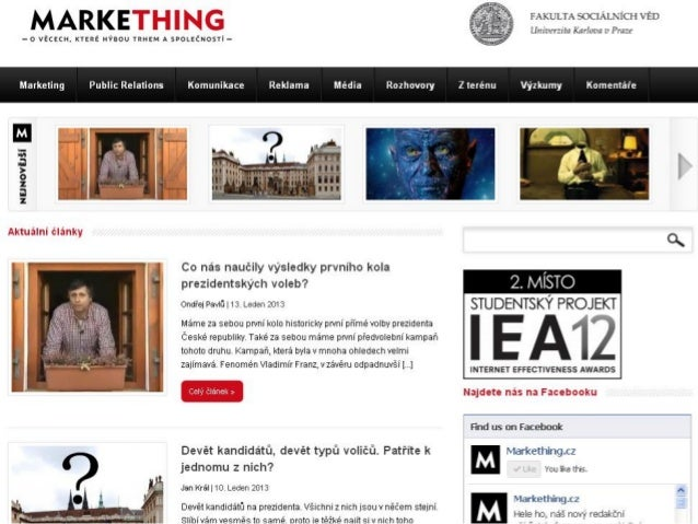 Markething na New Media Inspiration 2013 Slide 2