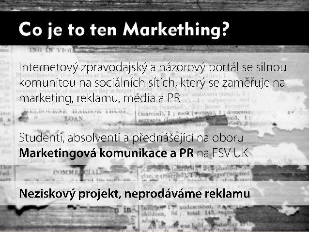 Markething na New Media Inspiration 2013 Slide 3