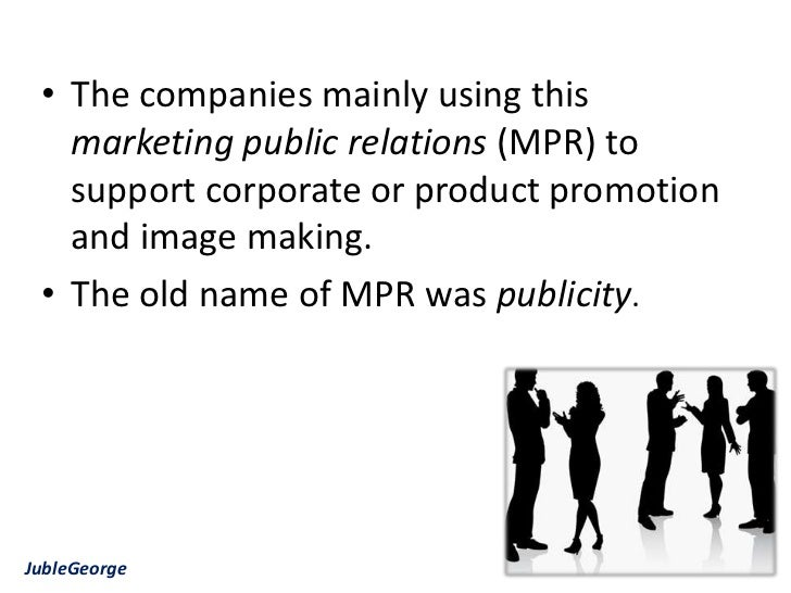 the important role of public relation Public relations: a management function what is public relations page 2 2 definition public relations is the management function that establishes and maintains mutually beneficial relationships the typical 12 functions of public relations can be categorized by competencies, the four-step process, and others.