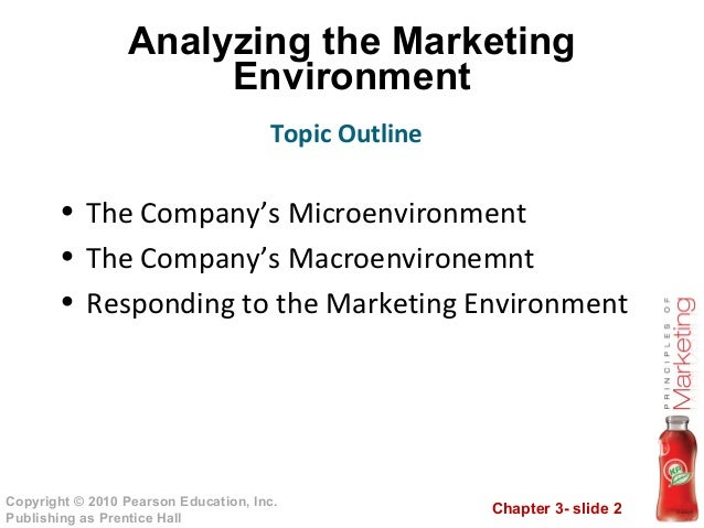 04 analyzing the marketing environment