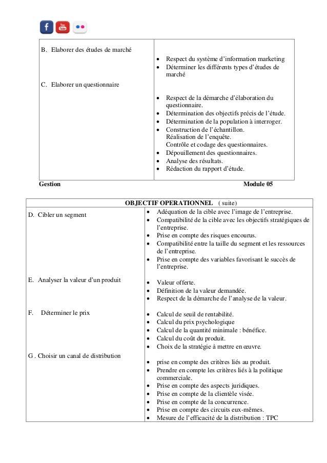 Notion De Base Du Marketing Pour Les Gestionnaires Tsge Tce Ofppt I
